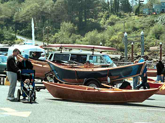 The Depoe Bay Wooden Boat Festival And Crab Feed 2001
