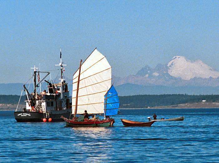 John's Snapshots from the 2001 Port Townsend Wooden Boat Festival