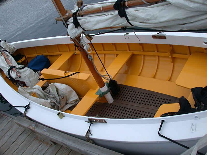 Wooden Boat Plans Catboat Sailing Build Plan